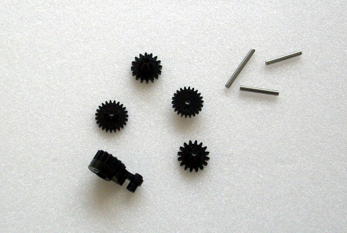 KYOSHO Kit Pignons de servo Miniz MR03, MZ404