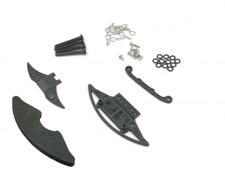 GL Racing Kit support de carrosserie Lexan complet GLA, GLA-035