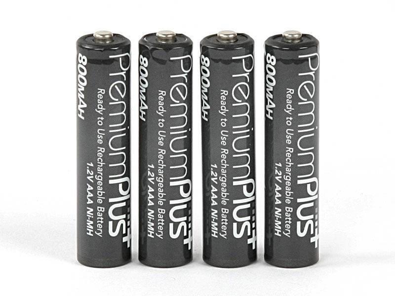 ROBITRONIC Accus Q-Lite Premium Plus NiMH 800mAh AAA, R05108