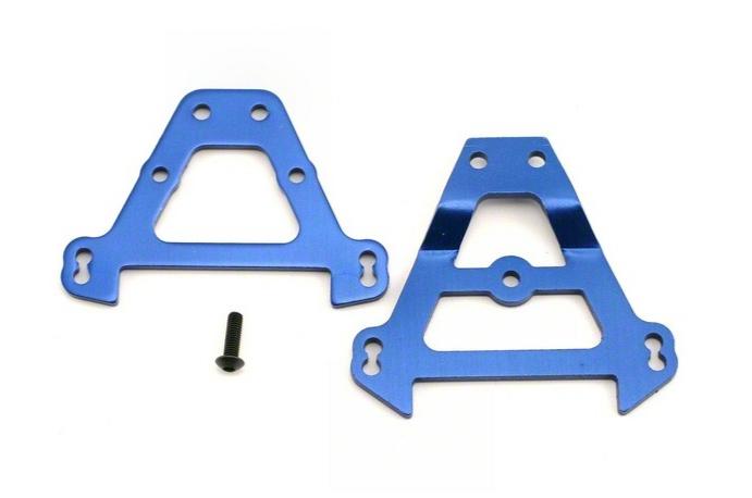 TRAXXAS Support Avant + Arrière Alu bleu, 5323