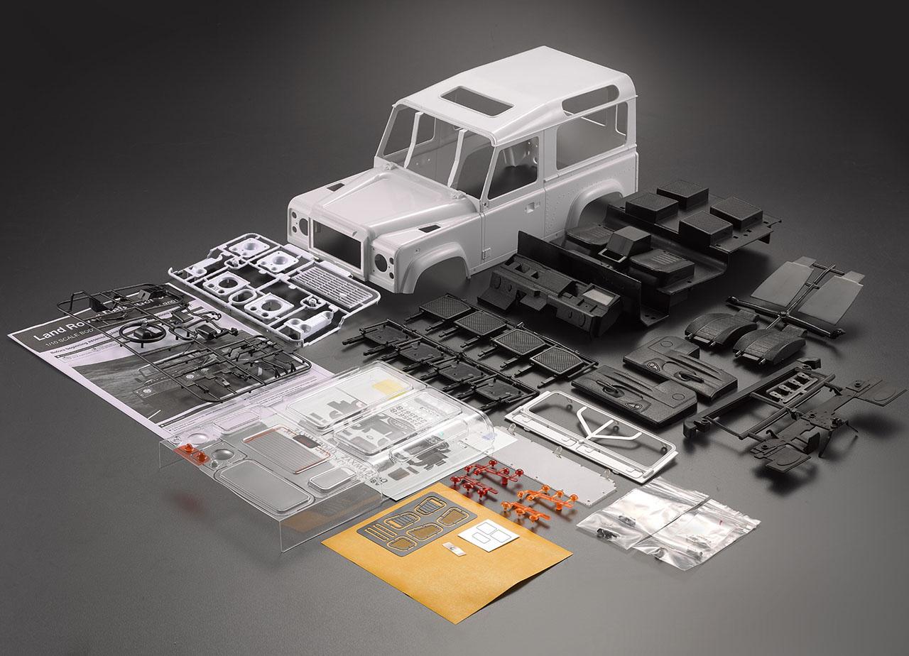 Killer Body Carrosserie Crawler Land Rover Defender D90, KB49001