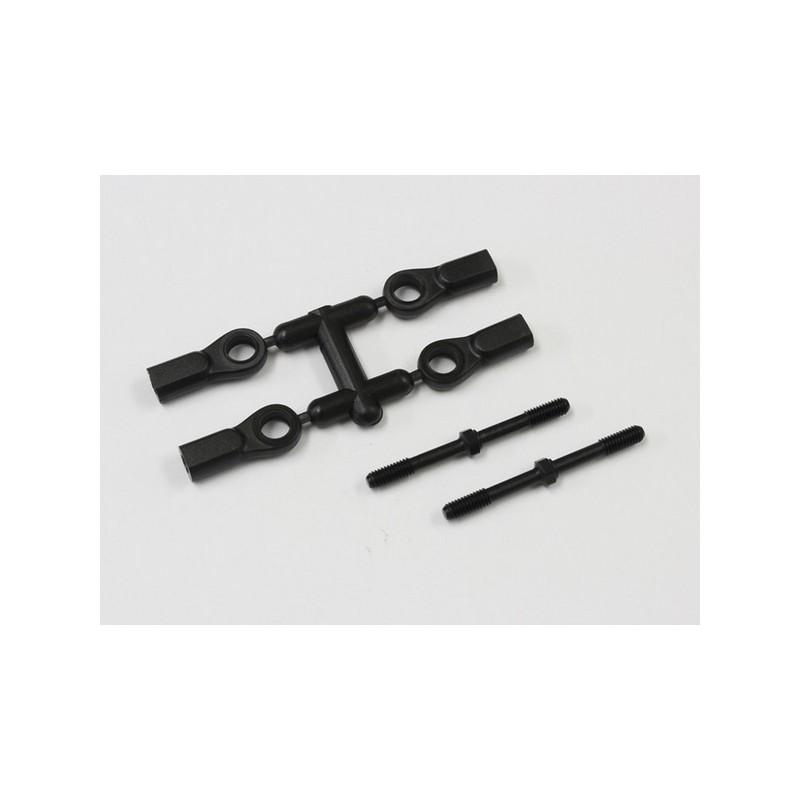 Kyosho Biellettes de Direction 4x46mm MP9 (x2), IF332BK