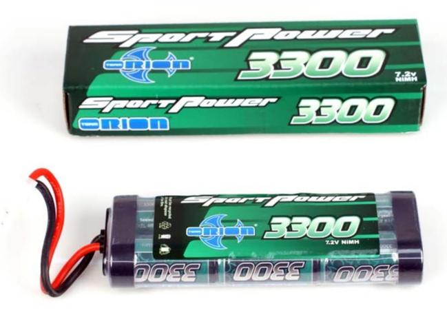 ORION Accu Nimh 7.2v Sport Power 3300 Mah, ORI10326