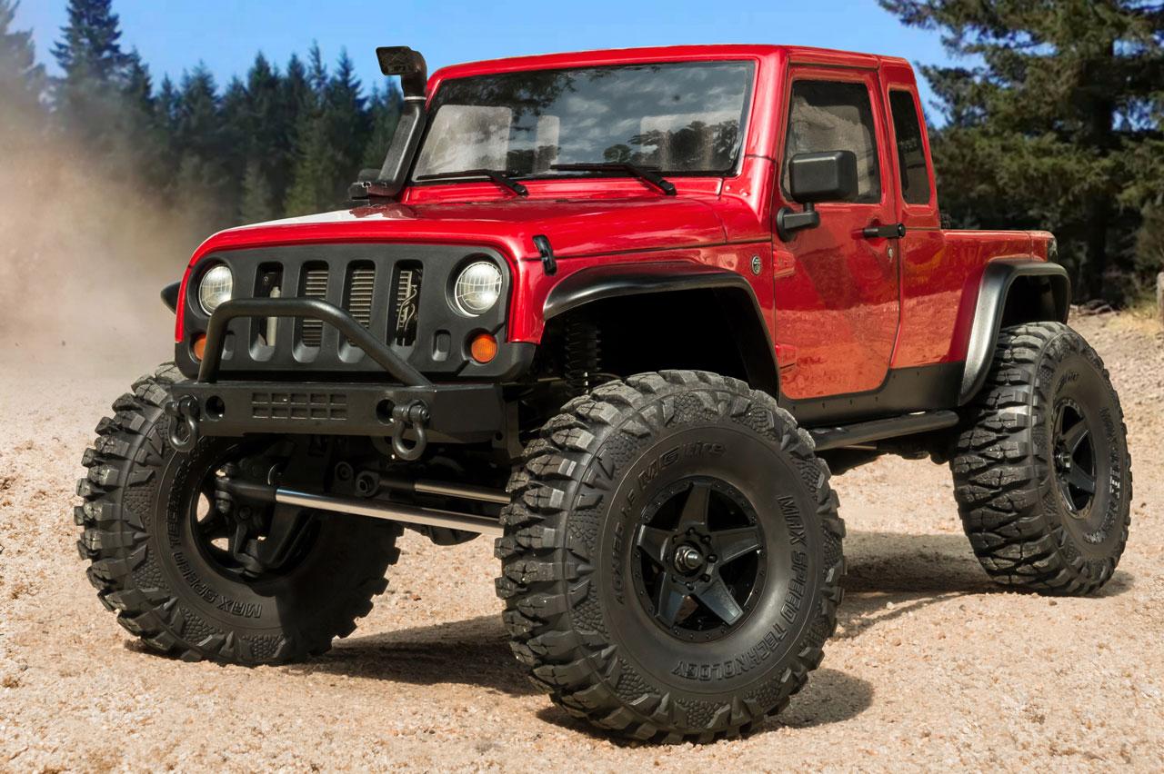 MST CFX-W JP1 Crawler RTR Red , MST531551R