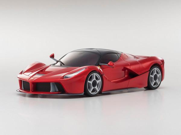 KYOSHO AUTOSCALE FERRARI LA FERRARI ROUGE METALLIQUE (W-MM), MZP224MR