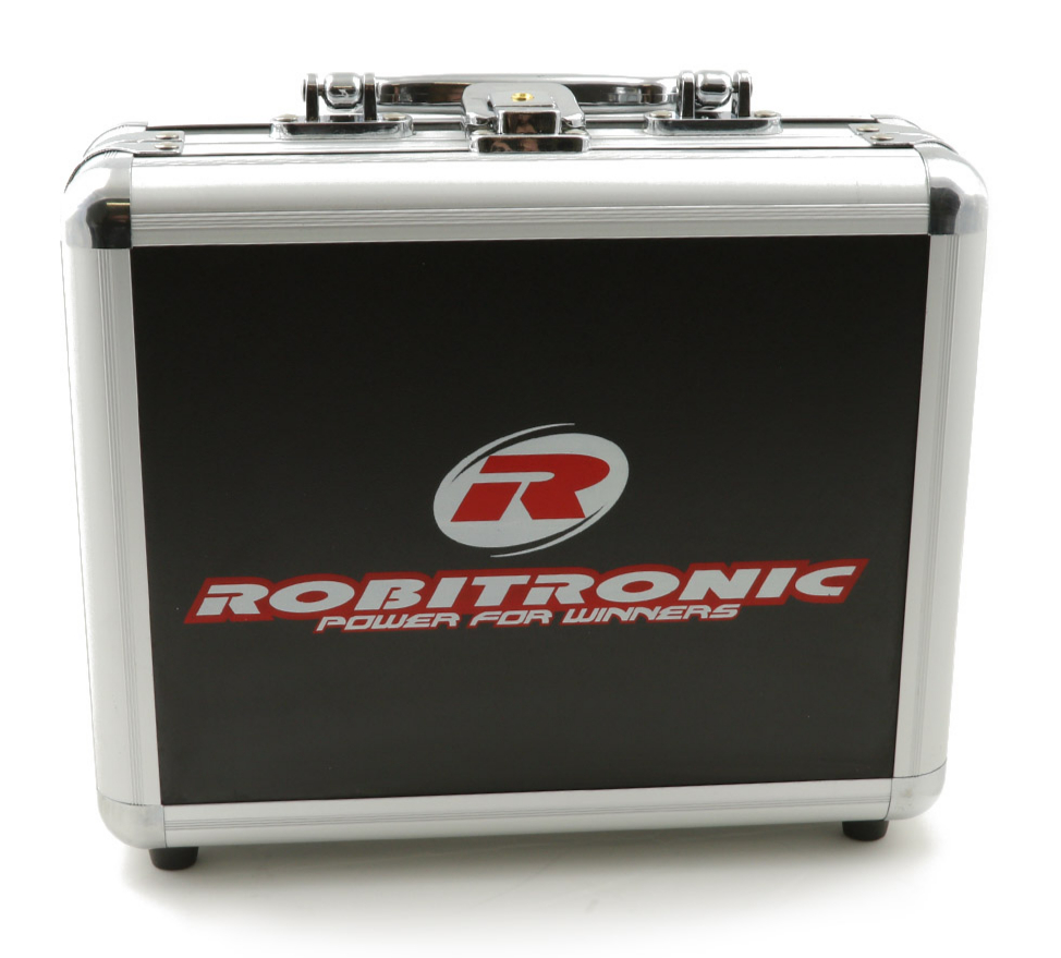 Robitronic Batterie Transport Box for 5 Batteries, R14024