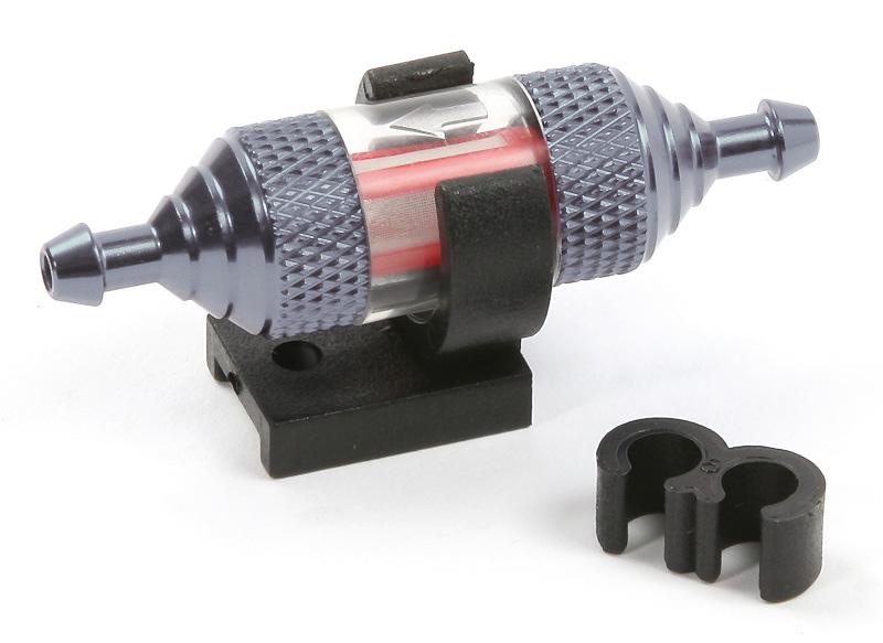 ROBITRONIC Filtre à essence transparent Gris, R07122G