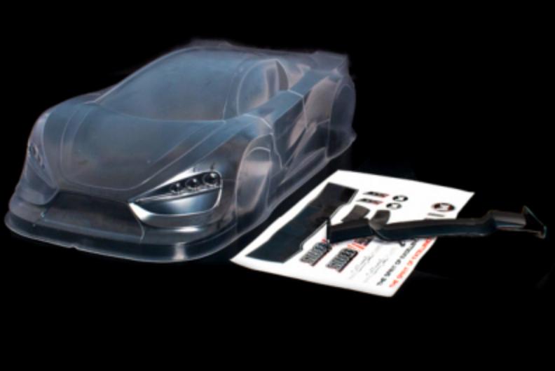 CARISMA Carrosserie Lexan Rally Game Concept Car à peindre, CA-330