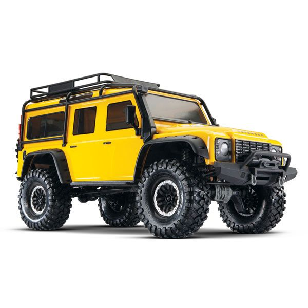 Traxxas TRX-4 Land Rover Defender Jaune Limited Edition RTR, 82056-4