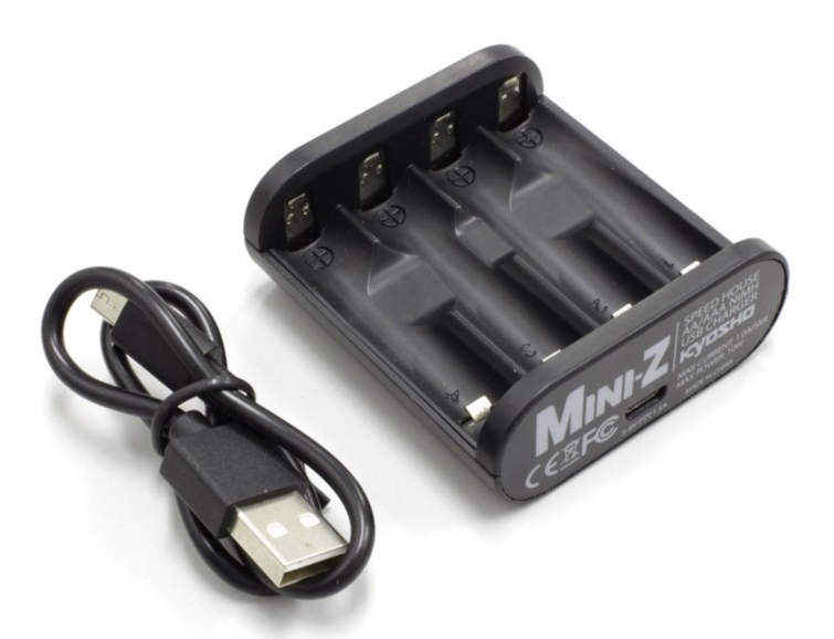 KYOSHO Chargeur accus AAA nimh 1 A USB, 71999