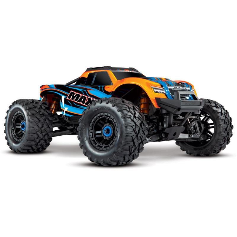 TRAXXAS MAXX - 4x4 - ORANGE - 1/10 BRUSHLESS - TSM - SANS AQ/CHG, TRX89076-4-ORNG