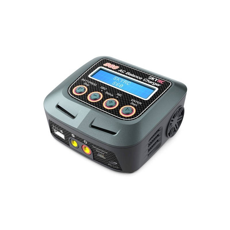 SkyRc Chargeur S60 (2-4S) 60W AC SK-100106