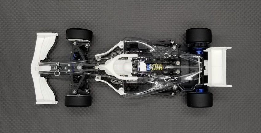 GL Racing F1 GLF Kit à monter avec Controller et servo + Carrosserie Lexan, GLF-1-001-KS