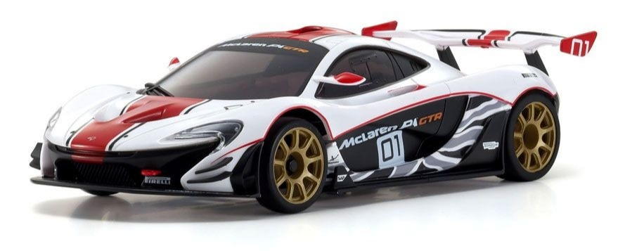 KYOSHO ASC MR03RWD McLaren P1 GTR White/Red, MZP235WR