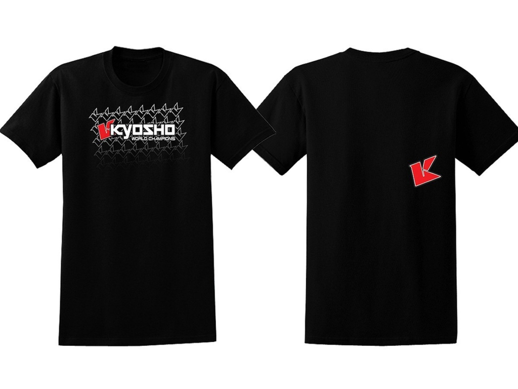 KYOSHO T-SHIRT K-FADE 2.0 NOIR Taille M, 88003M