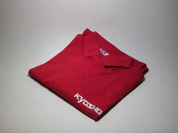 KYOSHO POLO RUGBY COL ROUGE KYOSHO Taille M, G-PR08M