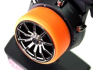 PN RACING Rond silicone Orange pour volant émetteur, 700810