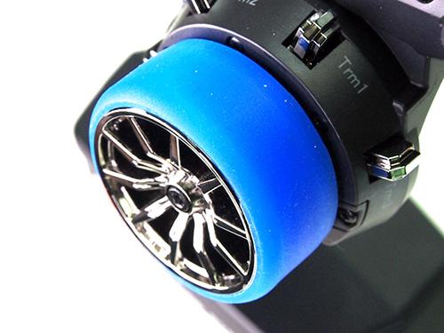 PN RACING Rond silicone Bleue pour volant émetteur, 700810B