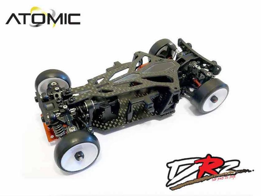 ATOMIC DRZ 2 WD spécial Drift (sans électronique), DRZ-KIT