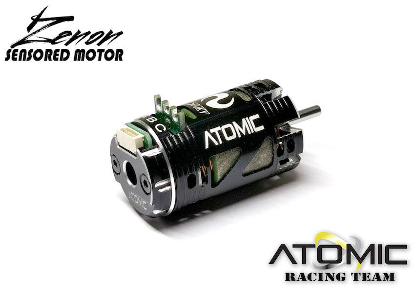ATOMIC Moteur Zenon Atomic Brushless Sensored 3500KV, MO-042