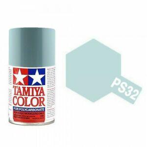 TAMIYA PS32 corsa grey Brillant Bombe peinture Lexan