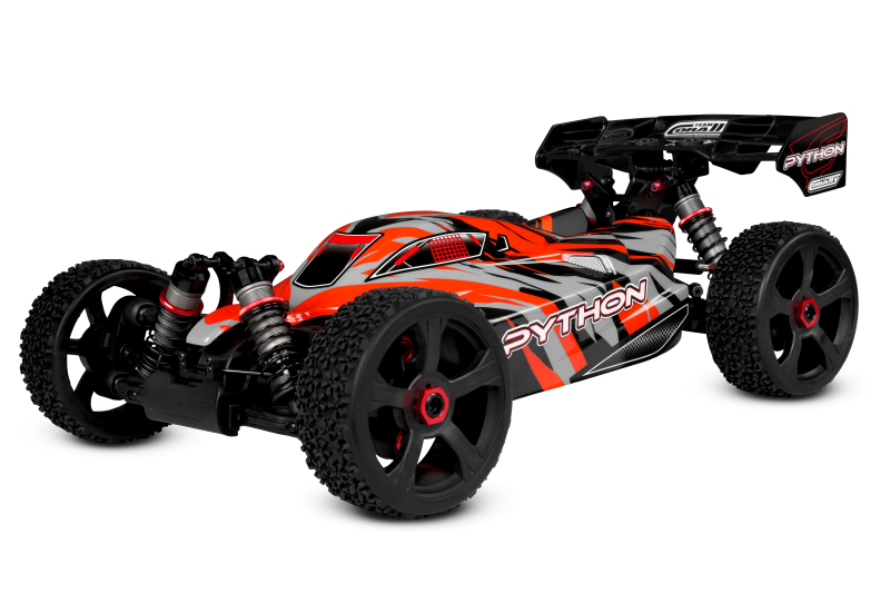 CORALLY PYTHON XP 6S BUGGY 1/8 SWB BRUSHLESS RTR, C-00181