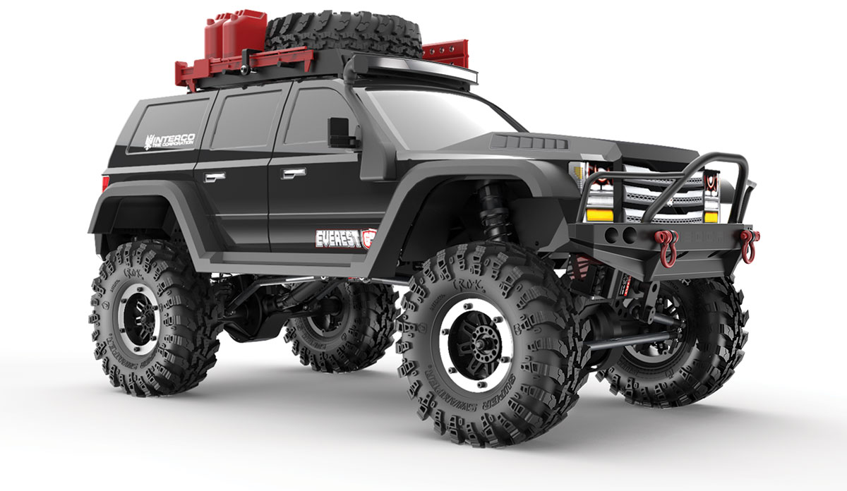 REDCAT Crawler Everest Gen7 Pro Noir RTR, RC00001
