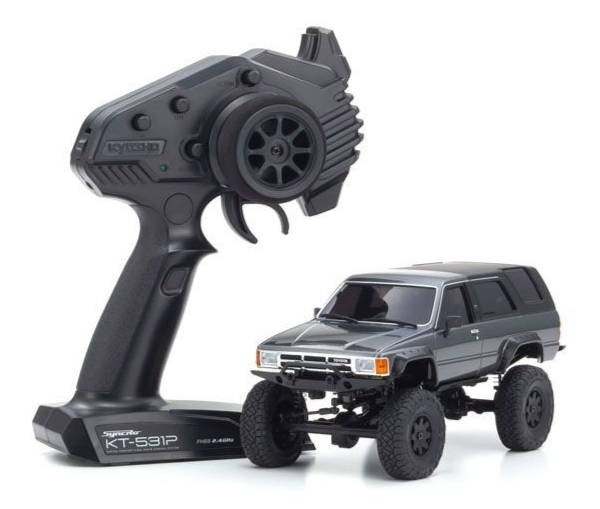 Pré-commande KYOSHO MINI-Z 4×4 Crawler SeriesToyota 4Runner(Hilux Surf) Dark Gray Metallic, 32522GM