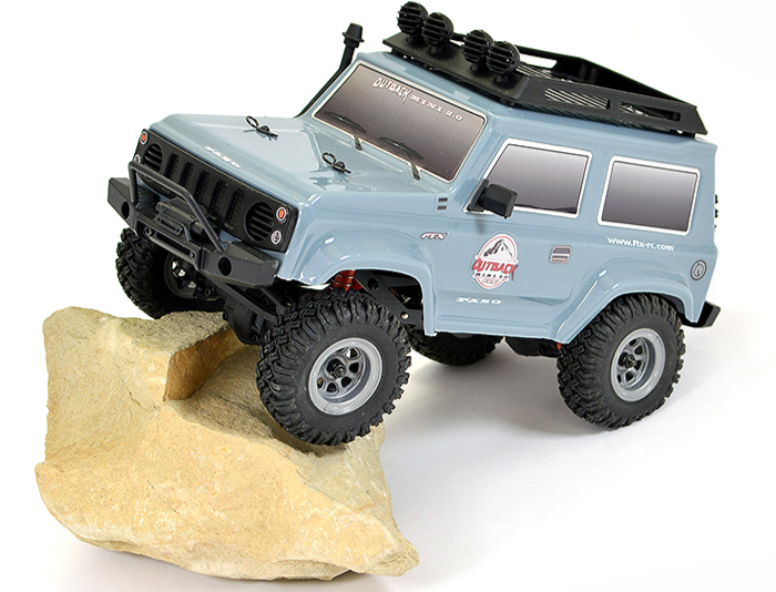 FTX Outback Mini 2.0 PASO 1/24 RTR 4WD GREY,  FTX5508GY