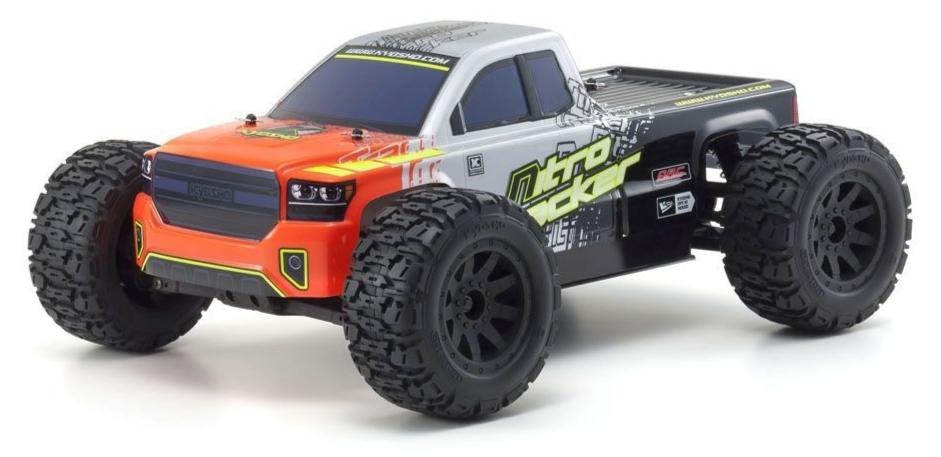 Kyosho Nitro Tracker 1:10 RC Nitro 4WD Readyset (KE15SP), 33101B