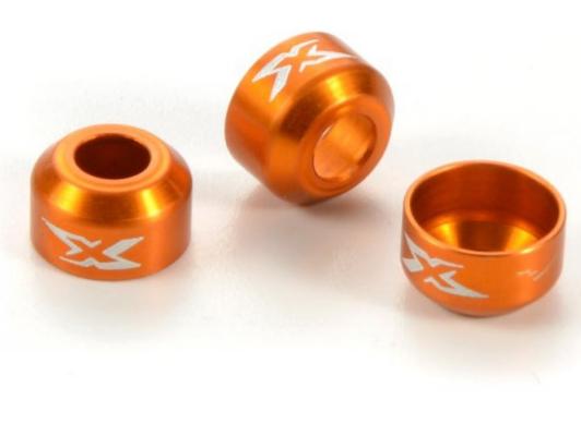 XRay Protection Noix de Cardan Alu Orange (x3) XB4, 365471-O
