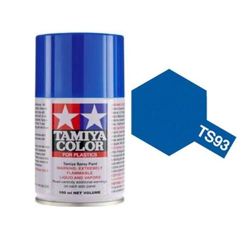 TAMIYA  TS93 Bleu pur bombe spray 100 ml. TS93