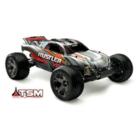 TRAXXAS Rustler VXL-3S Brushless Radio TQi & TSM iD RTR 37076-3
