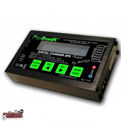 A2P Chargeur Lipo Nimh AP6 Pocket 12v, A2P7707