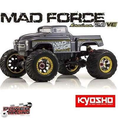Kyosho MADFORCE Kruiser 2.0 VE 1/8 4wd Readyset EP, 30888RS