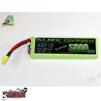 A2P Black Lithium 5000mAh 35C 2S (259 grs), 9500320