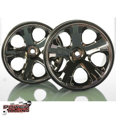 Traxxas Jantes All-Star 2.8 Black Chrome