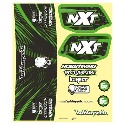 HOBBYTECH  Planche stickers Spirit NXT EP