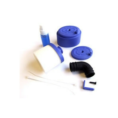 FASTRAX Kit Filtre a air 1/8 bleu