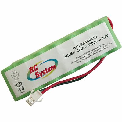 RC SYSTEM ACCUS NI-MH 8.4V 600 MAH (2/3AA)