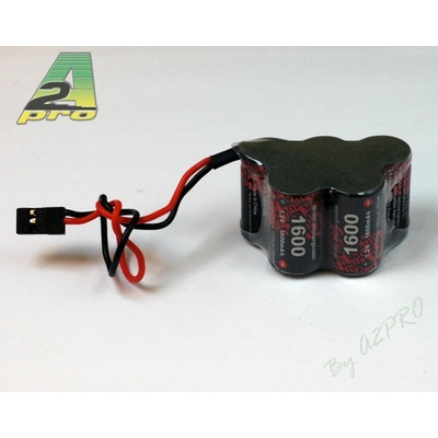 A2P Pack Rx W 6.0V/EP-1600UV JR, 5155W