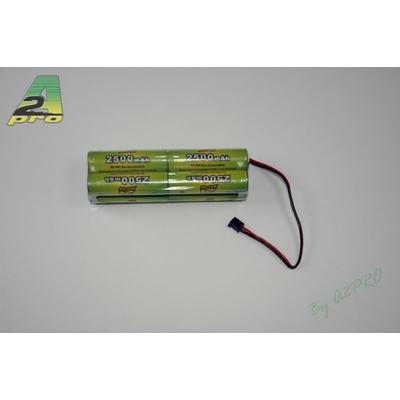 A2P Pack Tx B 9.6V/AP-2500AA JR type Tx, 8250B