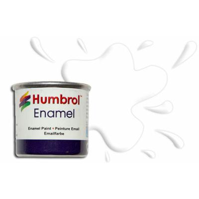 Humbrol Peinture enamel 034 Blanc Mat