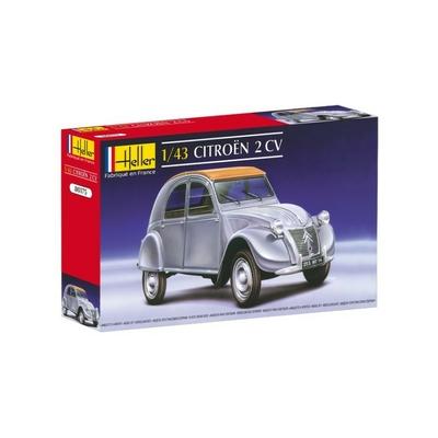 Heller Citroën 2cv Classic 1/43