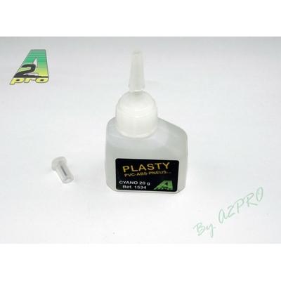 Colle Plasty - Cyano PVC, ABS, Pneus