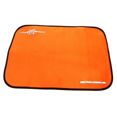 Tapis de stand orange Atomic