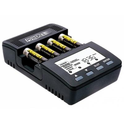 Chargeur / Déchargeur POWEREX pour accus Miniz