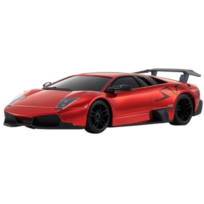 KYOSHO MINIZ SPORTS MR03 LAMBORGHINI LP670-4 RED CHROME