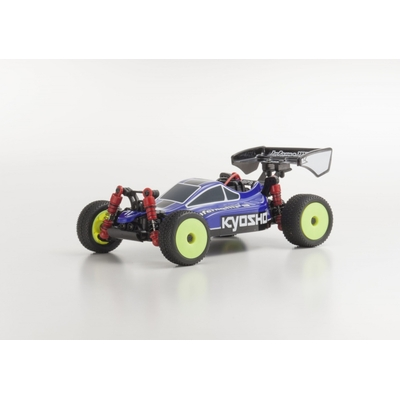 KYOSHO MINI-Z BUGGY MB010S 4WD 1/24 INFERNO MP9 TKI3 BLEU/NOIR - READYSET, 32081BB