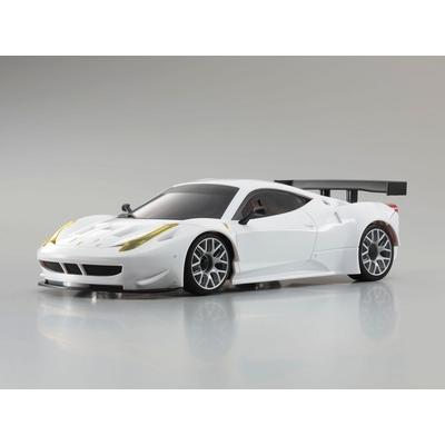 Carrosserie Ferrari 458 Italia GT2 Blanche Mini-Z Kyosho
